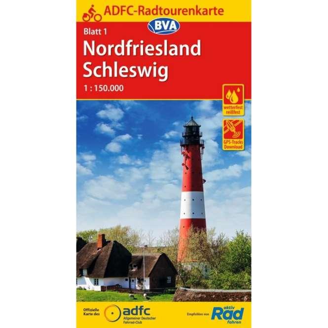 BVA BikeMedia Nordfriesland / Schleswig Fahrradkarte