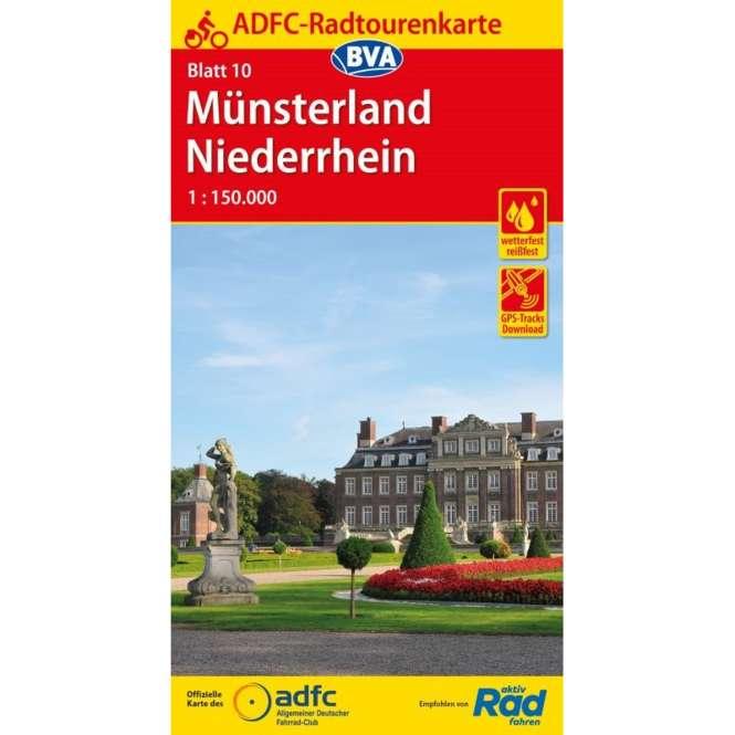 BVA BikeMedia Münsterland / Niederrhein Fahrradkarte