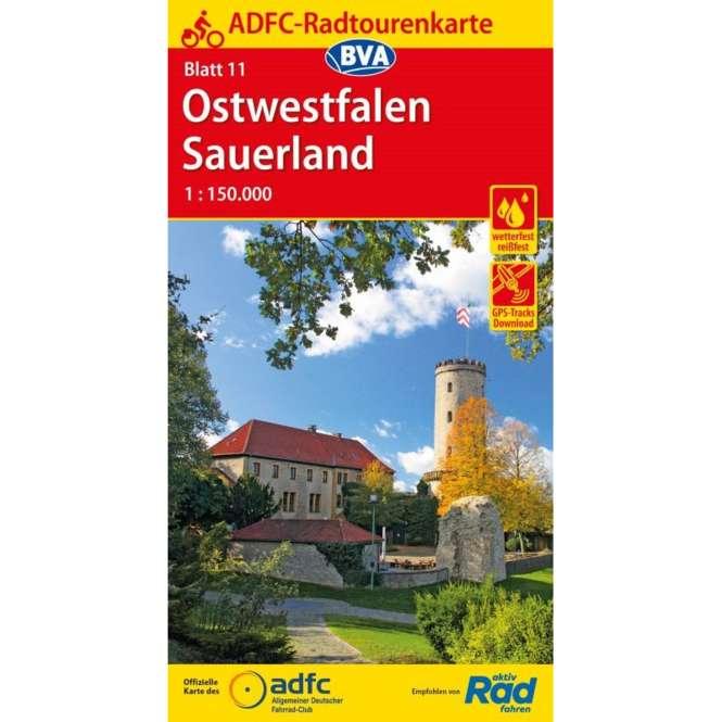 BVA BikeMedia Ostwestfalen / Sauerland Fahrradkarte