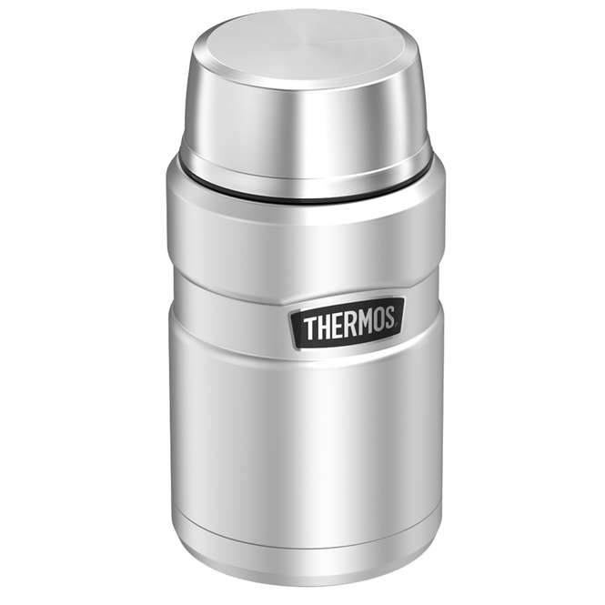 Thermos Stainless King Food Jar 0,71 Liter - stainless-steel