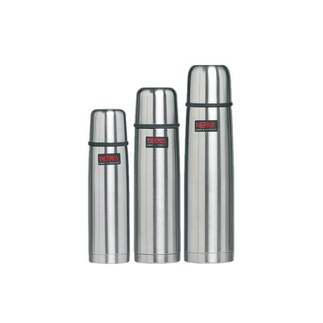 Thermos Thermosflasche Light & Compact - 1,0 L - steel mat