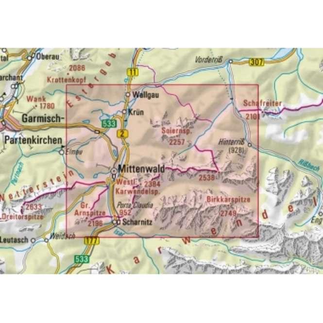 DAV AV-Karte BY 4 - Allgäuer Alpen
