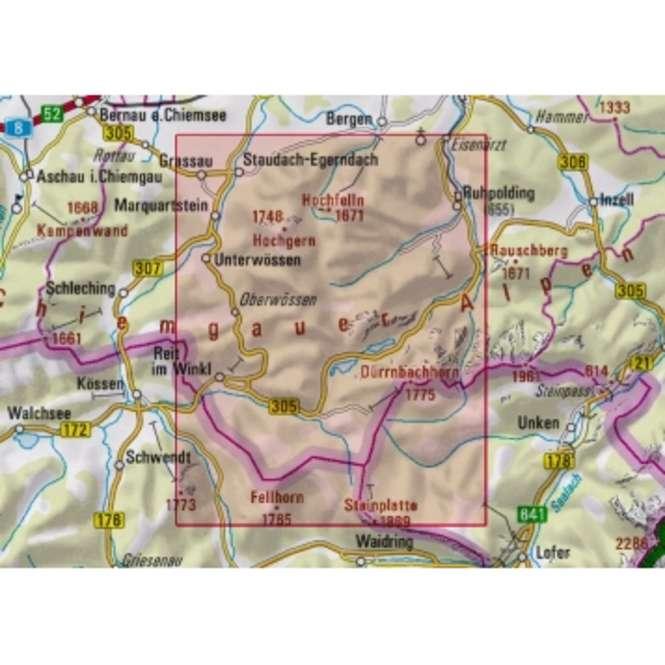 DAV Chiemgauer Alpen Mitte BY 18 neue Auflage