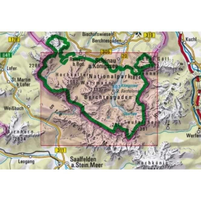 DAV Berchtesgaden W+S BY 21 Nationalpark