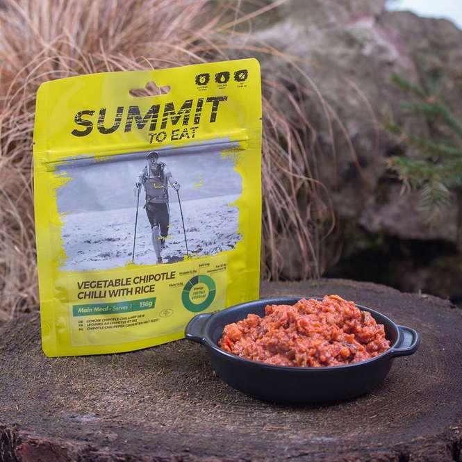 Summit to Eat Gemüse-Chili mit Reis