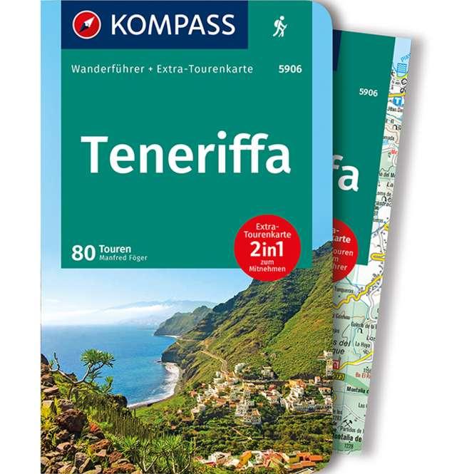 Kompass-Verlag Wanderführer Teneriffa 2-in-1