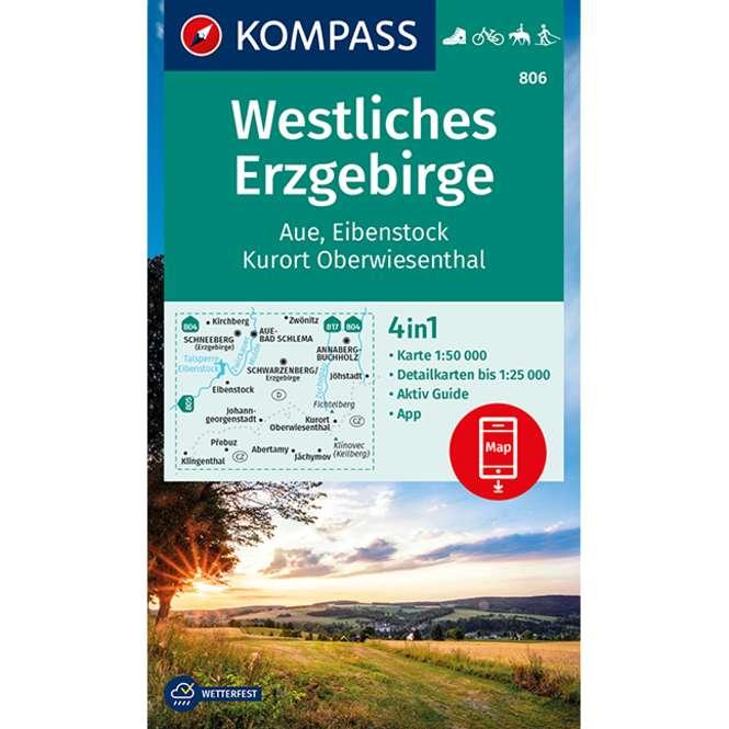 Kompass-Verlag WK Westliches Erzgebirge/Aue/Eibenstock