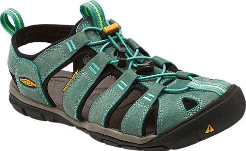 Clearwater Leather CNX Women mineral blue/yellow | US 7,0