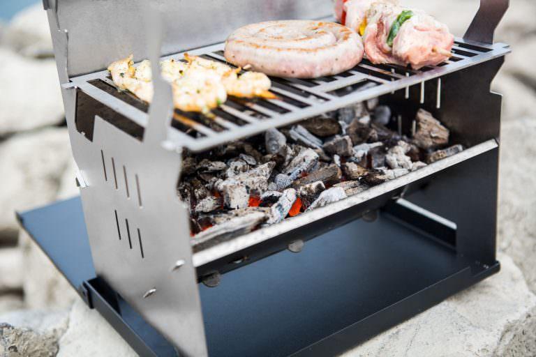 Camp4 Klettergurt : Fennek grill im camp outdoor shop kaufen feuerstelle