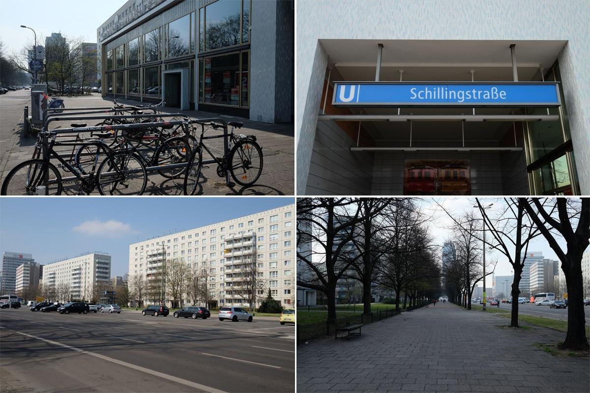 Rad, U-Bahn, Auto oder schnell vom Alex zu uns laufen, wir sind easy zu erreichen.