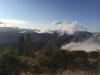 Nebel und Berge