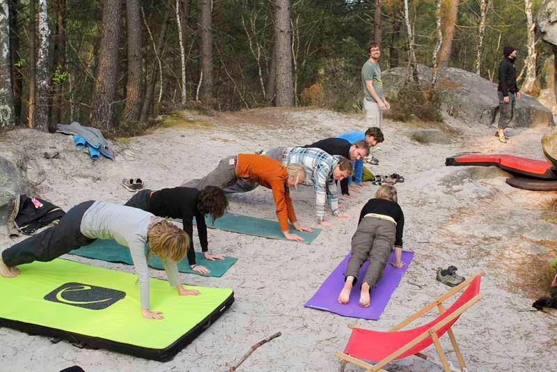 Klettergurt Für Yoga : Yoga für kletterer Übungen mehr flexibilität