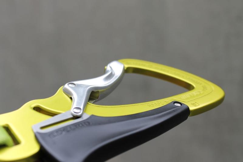 Klettersteigset Outlet : Klettersteigset testbericht edelrid cable vario u sicher