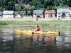 Die Strömung der Elbe lädt zu vielen Pausen ein