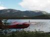 Wasserflugzeuge, ein übliches Fortbewegungsmittel in Kanda