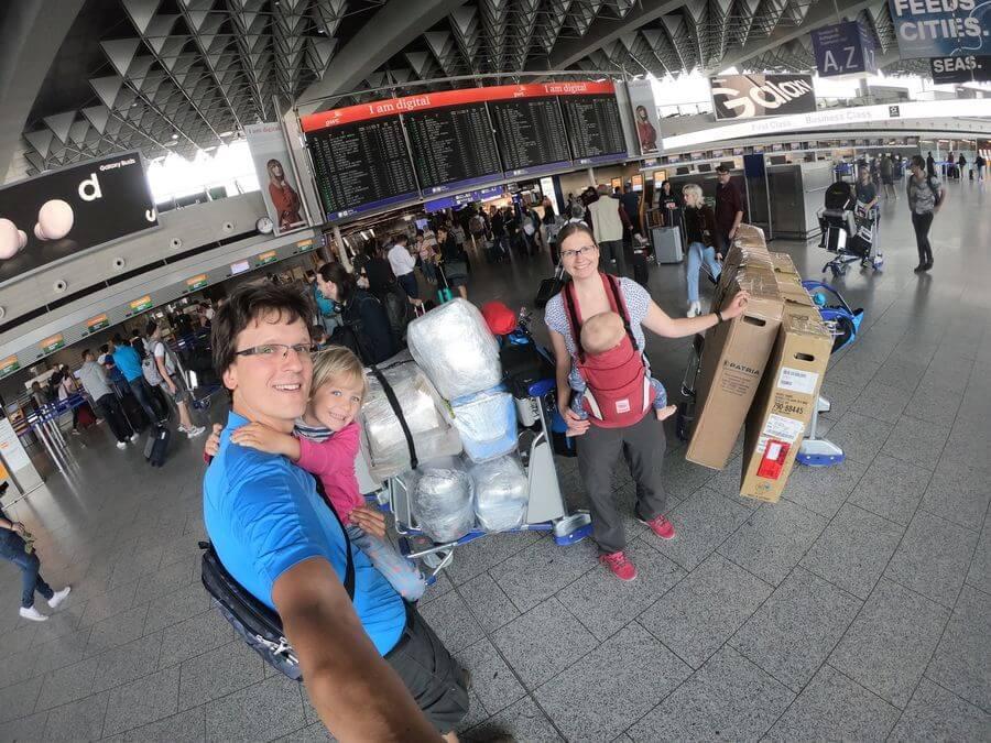 Ankunft in Kanada - das Abenteuer beginnt