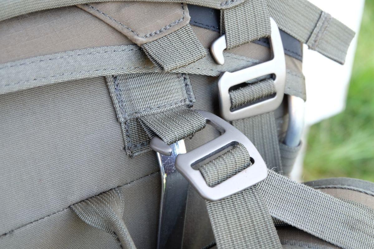 Die Metallhaken sind flexibel, stabil und sehr hochwertig.