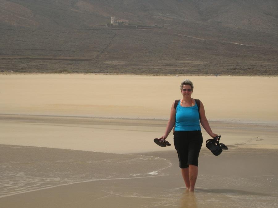Annette am Meer