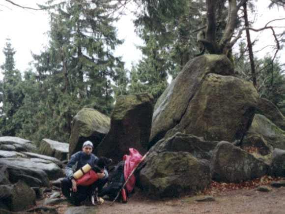 Klettergurt Hund : Mit hund über herbert roths höhenweg u a camplog