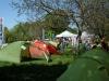 Areal für VAUDE-Zelte