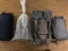 Viele schöne Packsäcke