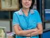 Bussaree Pornkasempotjana, Produktionsassistent und Fair Trade Komiteefunktionär bei V.T. Garment, Bangkok, Thailand.