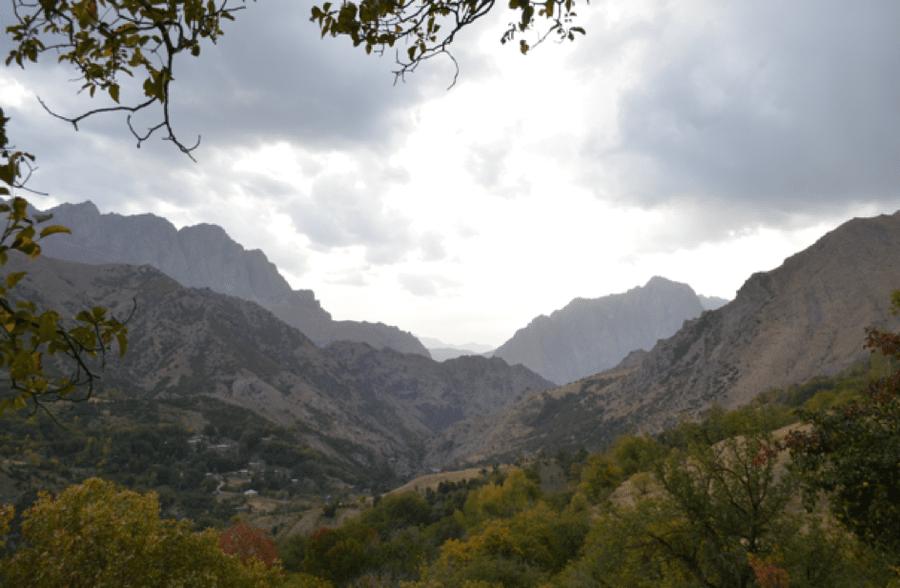Beeindruckend: Die kurdisch-türkischen Berge.