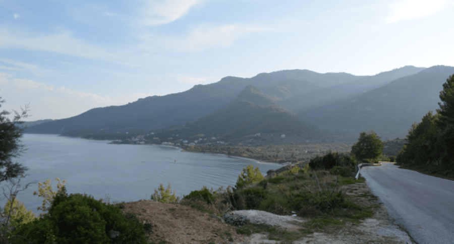 Die Insel Thasos mit ihrem atemberaubenden Panorama.