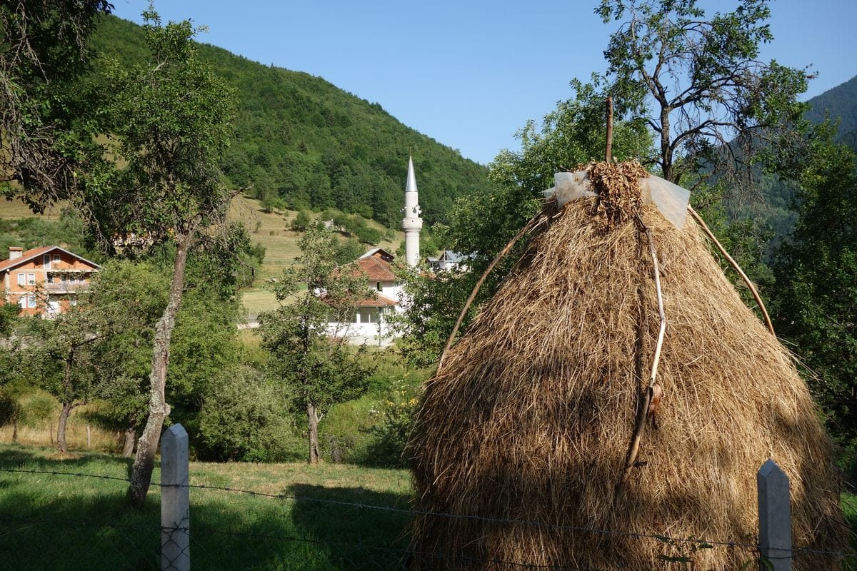 Moscheen statt Kirchen in den Bergen des Kosovos