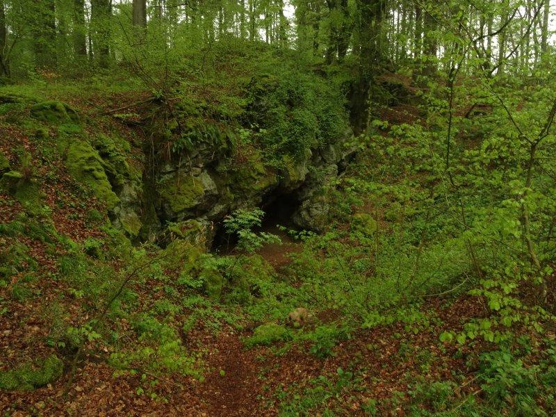 Höhle am Rother Kopf – näher kam ich ihr nicht