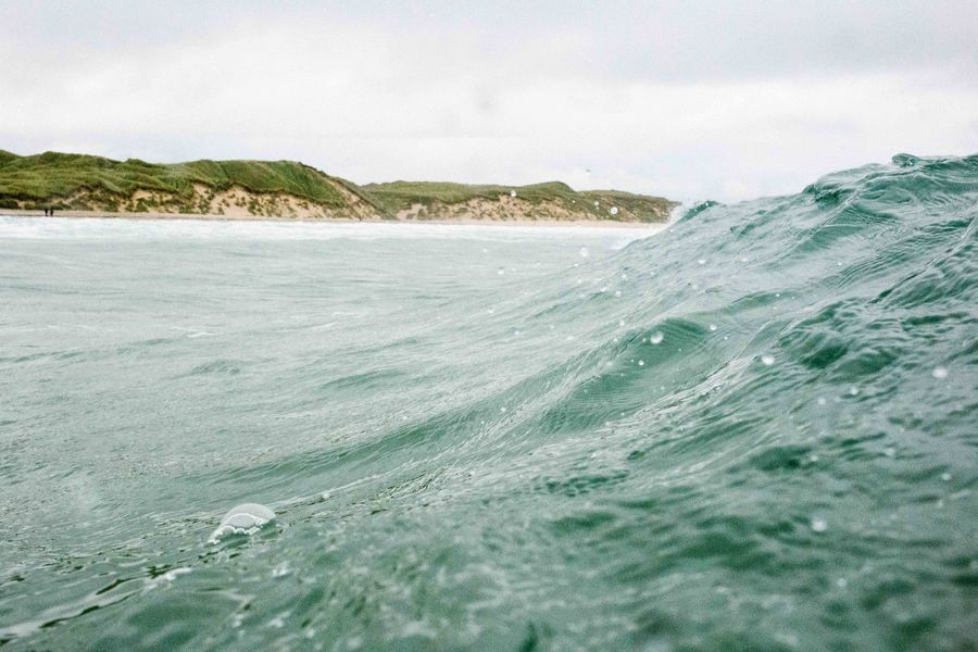 Im Wasser waren wir in der Regel ganz allein. ®KatrinBehrens