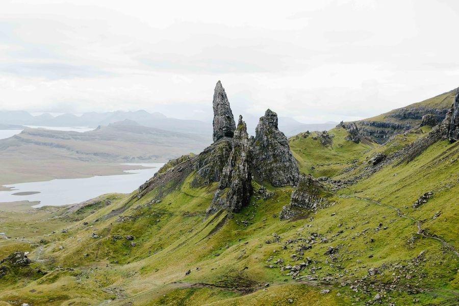 Schroff und mystisch - Schottland. ®KatrinBehrens