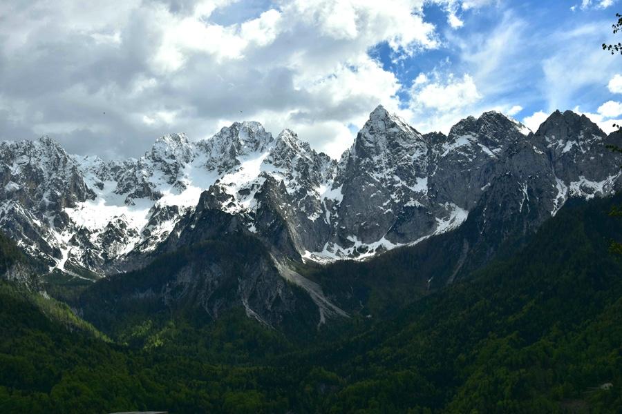 Blick in die Bergwildnis des Nationalparks