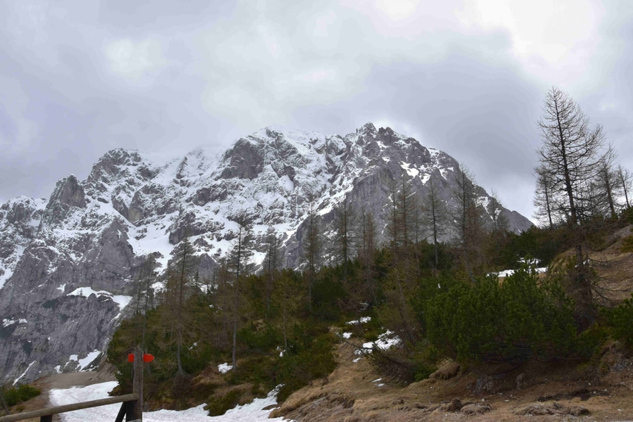 Aussicht vom Vrisc-Pass
