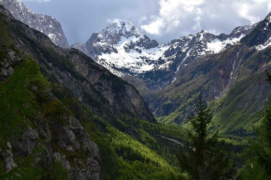 Erster Blick ins Trenta-Tal