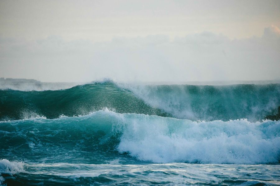 Sri Lanka - perfekt brechende Wellen