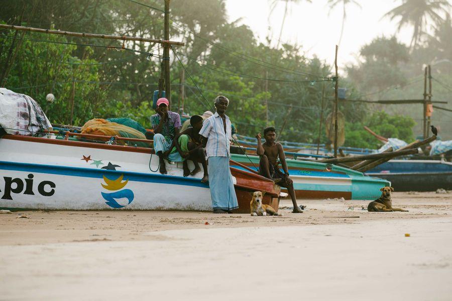 Sri Lanka - einheimische Fischer