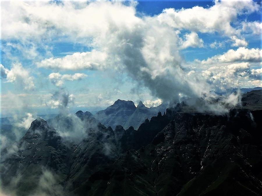 Drakensberge in ihrer Pracht