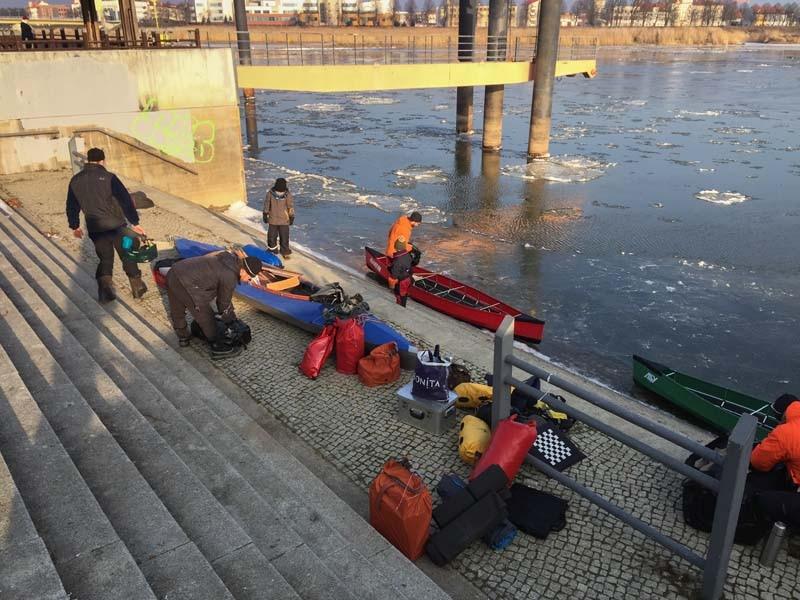Camp4 Klettergurt : Reisebericht camp team winterpaddeln auf der eisigen oder
