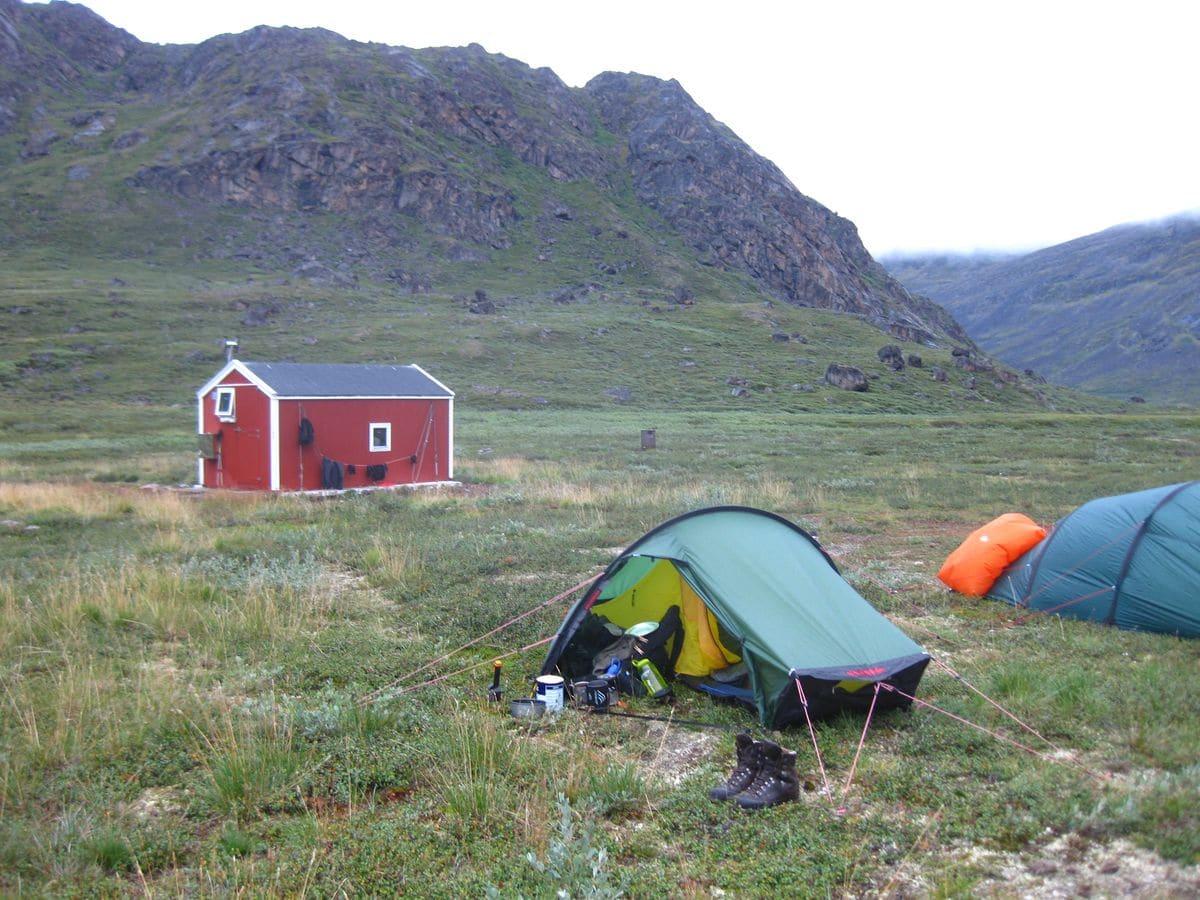 Grönland - Hütte Nerumaq