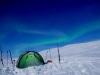 1. Polarlichter auf dem Nordkalottleden, Schweden