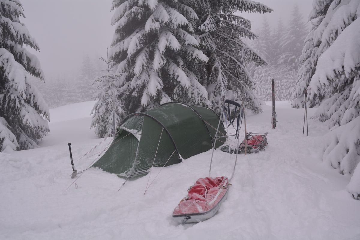 Wintertour im Erzgebirge