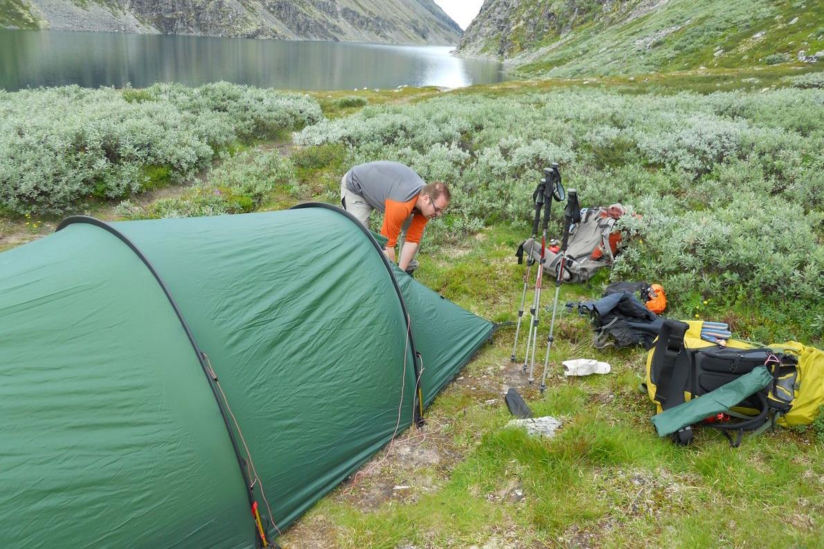 Rondvatnet im Rondane Nationalpark, Norwegen