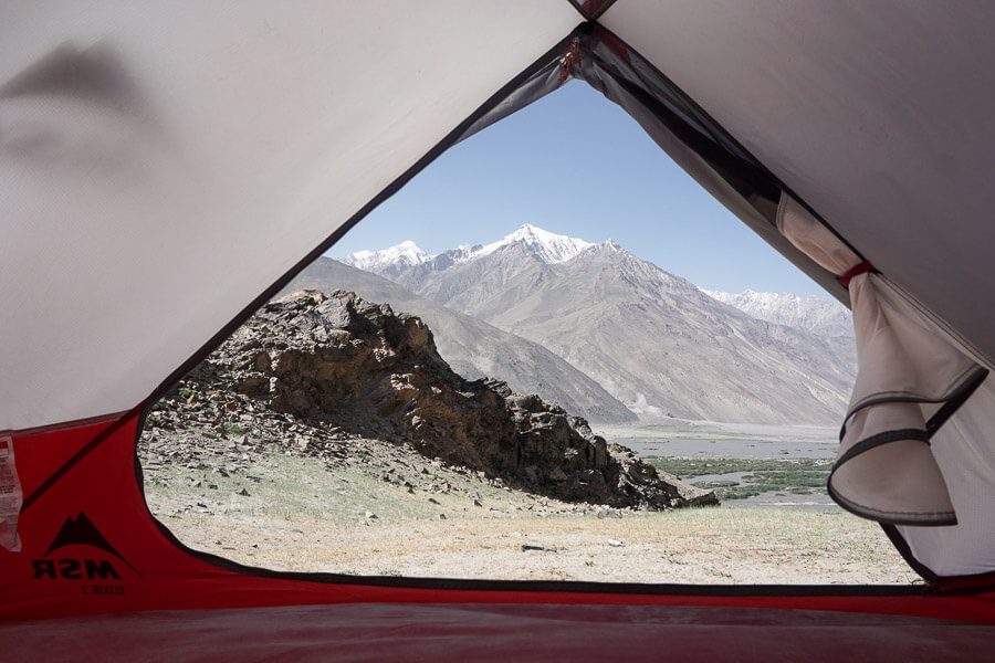 CAMP4 Testbericht MSR Elixir 2 - Blick zum Hindukusch nach Afghanistan