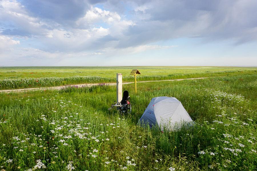CAMP4 Testbericht MSR Elixir 2 - Kasachstan, eine unendliche Zeltwiese