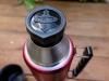 Thermos King 1,2 L - andrehen, ausgießen, genießen, alles sehr solide verarbeitet.