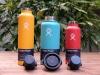 Hydro Flask bietet  0,5 | 0,7 und 1 L - Flaschen an.