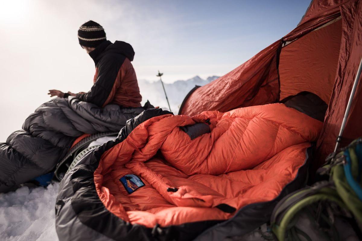 Insbesondere für Berge ist das Außenmaterial besonders geeignet.