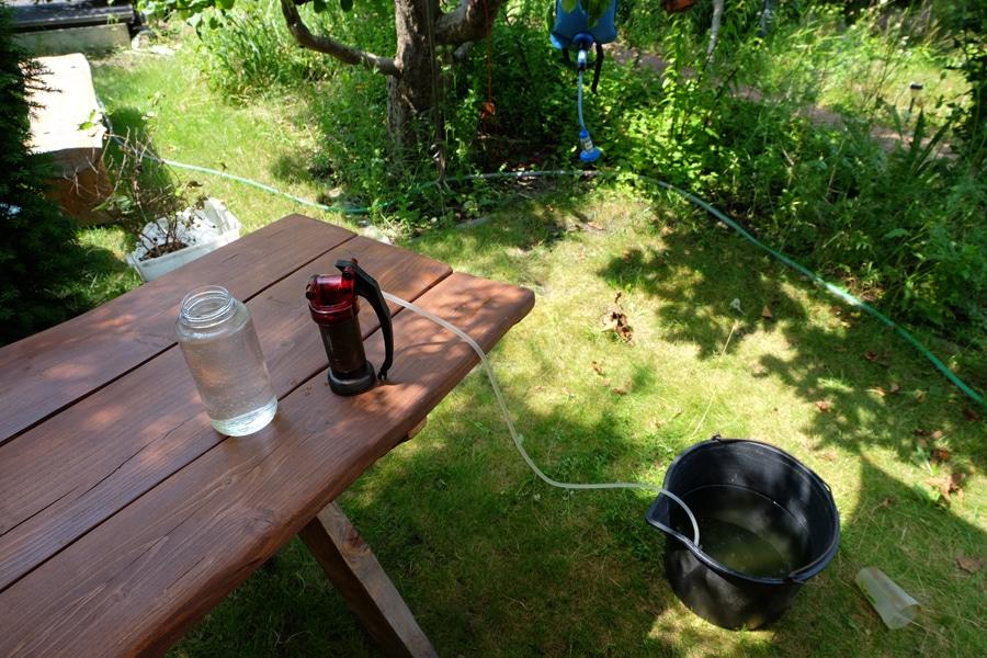 MSR Miniworks - handliche Pumpe für Gruppen