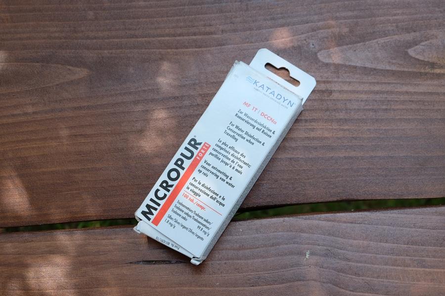 Micropur Forte (Wirkstoff: Chlor) - Tabletten